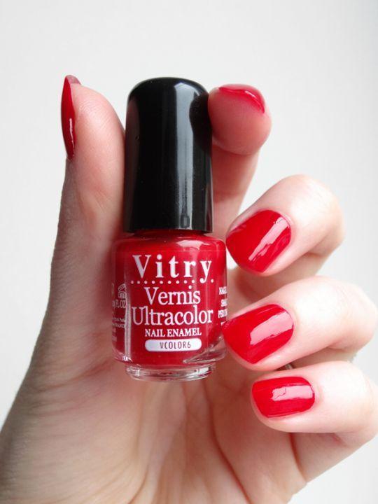 Esmalte rojo de uñas #Vitry. #farmacia #uñas #beauty | MANICURA ...