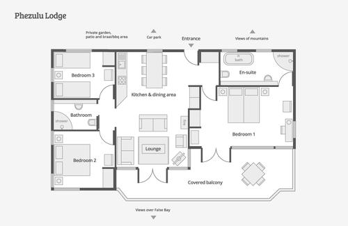 Exclusive Self Catering Lodges Craftsman Floor Plans Luxury Plan House Plans