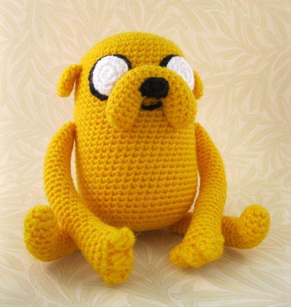 Adventure Time crochet pattern discount Set of 2 PDF Jake the dog Crochet Pattern Amigurumi tutorial Finn the Human Crochet Pattern