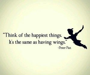 Peter Pan shared by Melissa25 on We Heart It