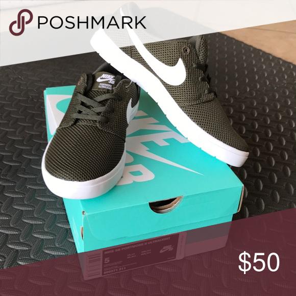0daf4f1c395e4b Olive Green Nike SB Portmore II Ultralight Olive Green Nike SB Portmore II  Ultralight Nike Shoes Sneakers