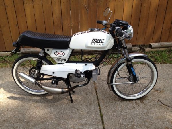 5 star General moped *****