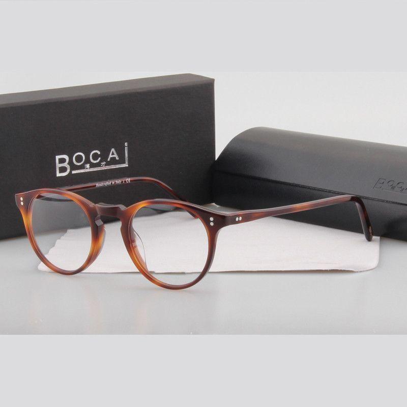 ea139bc246 BOCAI Brand New Vintage optical glasses frame oliver peoples Style OV5183 O Malley  eyeglasses oculos