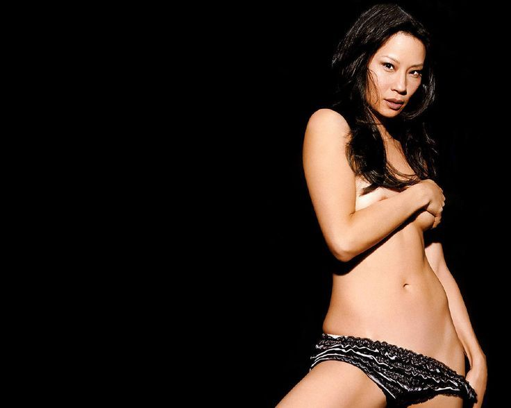India lucy liu nude and naked lesbian sex