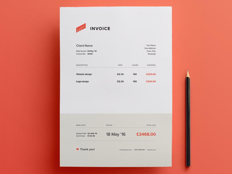 Invoice Free Template Invoice Design Template Invoice Design Invoice Template