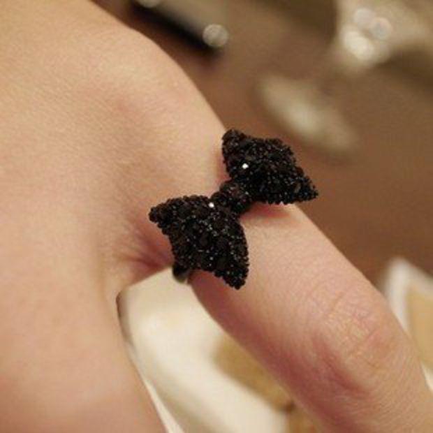 Black Bead Ring on Wanelo  508849722f
