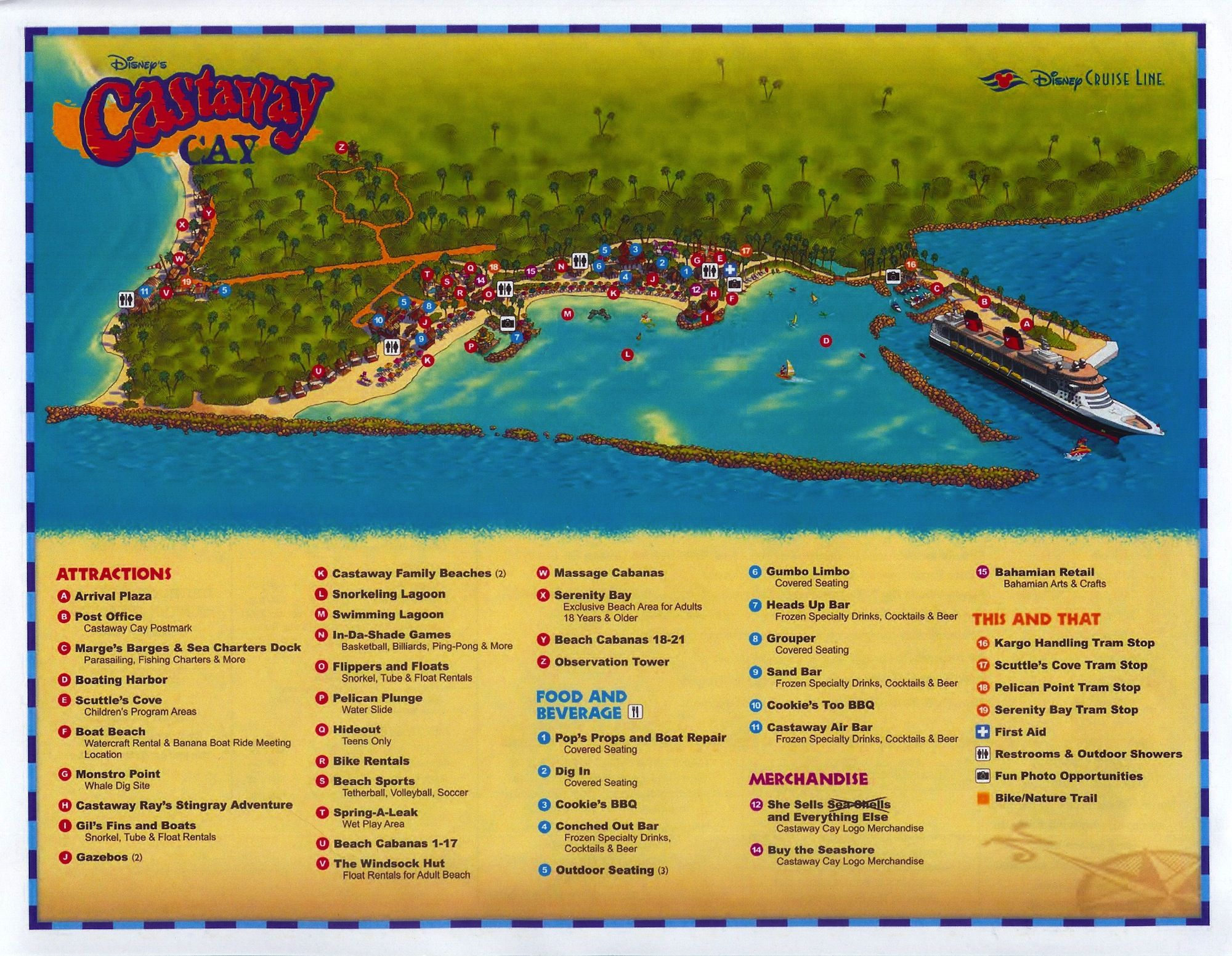 Castaway Cay is Disney's picture-perfect Caribbean island ... on