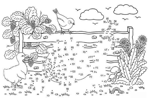 Dibujo De Unir Puntos De Caracol Dibujo Para Colorear E Imprimir