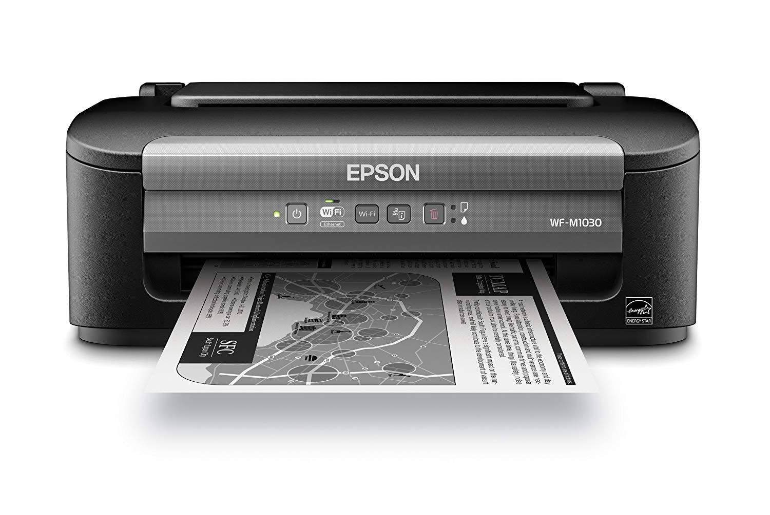 Epson Wf 100 Laser Printer For The Professional In You Laser Printer Wireless Printer Printer