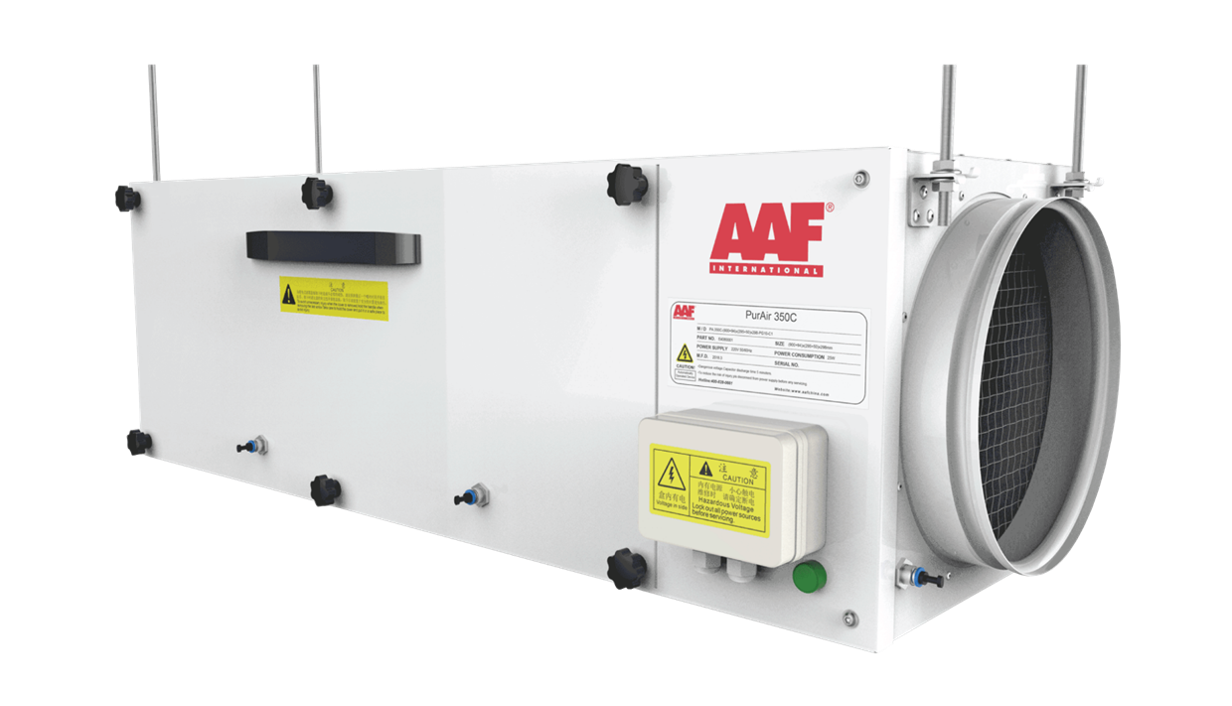 HVAC Insider reports AAF's launch of PurAir350C for