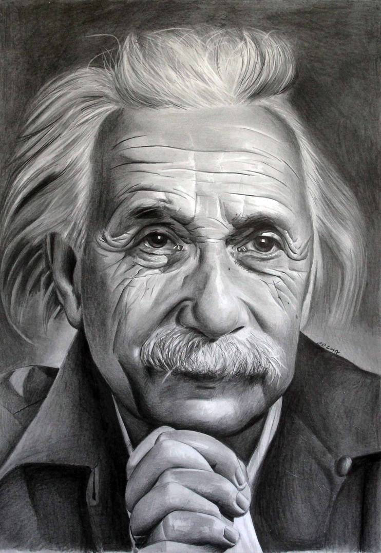 Albert Einstein 2 By Donchild On Deviantart Portrait Drawing Portrait Artists Pencil Pencil Drawings