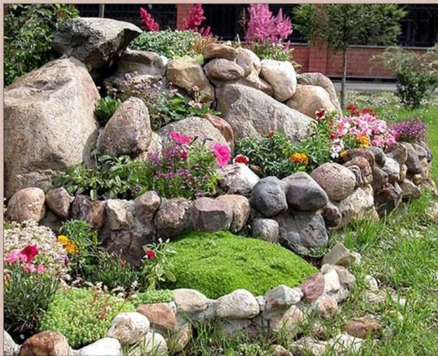 20 Blooming Rock Garden Design Ideas And Backyard Landscaping Tips Great Ideas