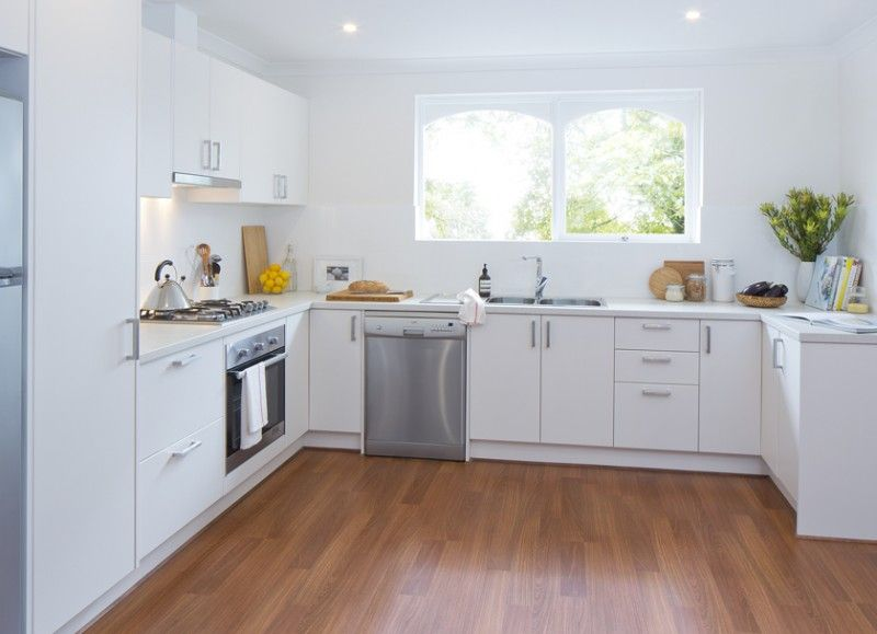 kaboodle kitchen breathing new life available at bunnings cleanwhite modern renovation on kaboodle kitchen enoki id=22359