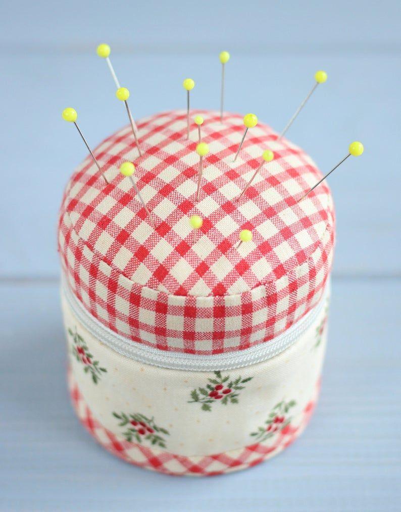 PDF Sewing Organizer   Pincushion Sewing Pattern & Tutorial ...