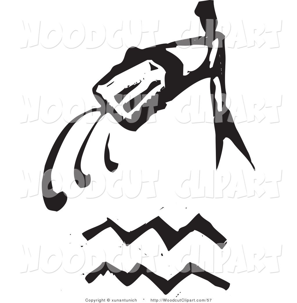 http://woodcutclipart.com/1024/vector-clip-art-of-black-and-white-carved-aquarius-and-zodiac-symbol-on-white-by-xunantunich-57.jpg