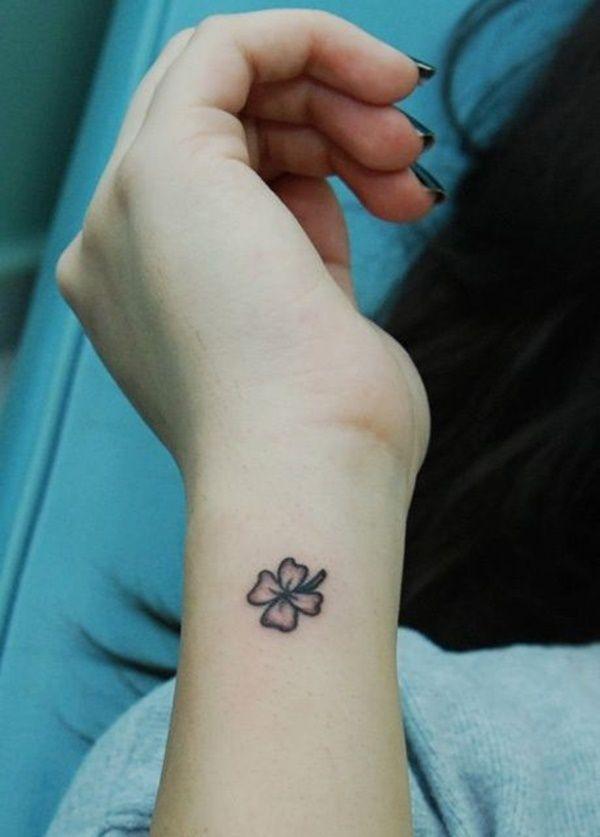 Afbeeldingsresultaat Voor Waar Zet Ik Klavertje Vier Tattoo