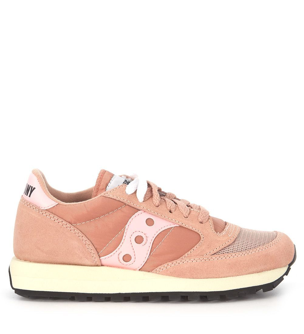 Discount Saucony Sneaker Jazz Vintage In Pink Suede And Nylon Pink Trainers for Men Sale Online