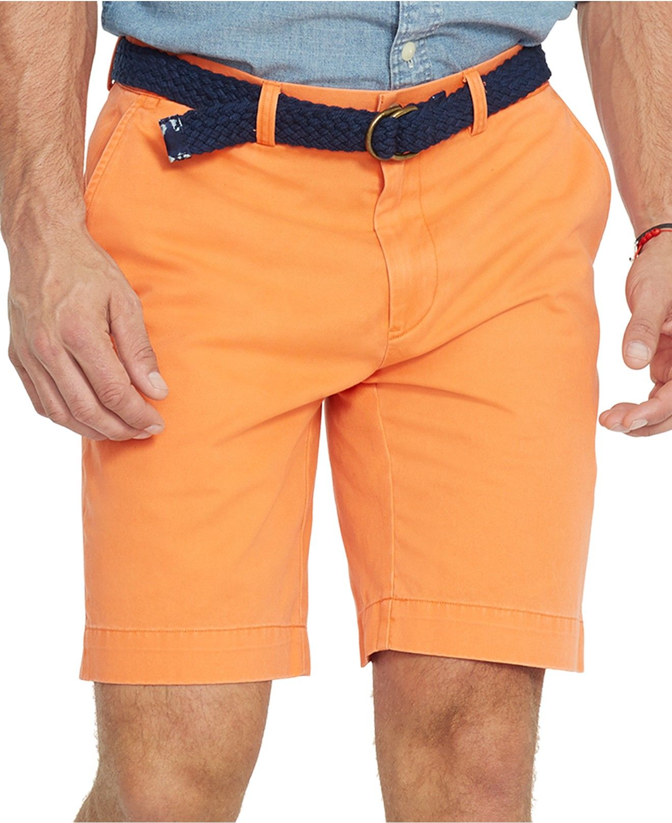 ALEX Polo Ralph Lauren Classic-Fit Chino Shorts - Shorts - Men ...