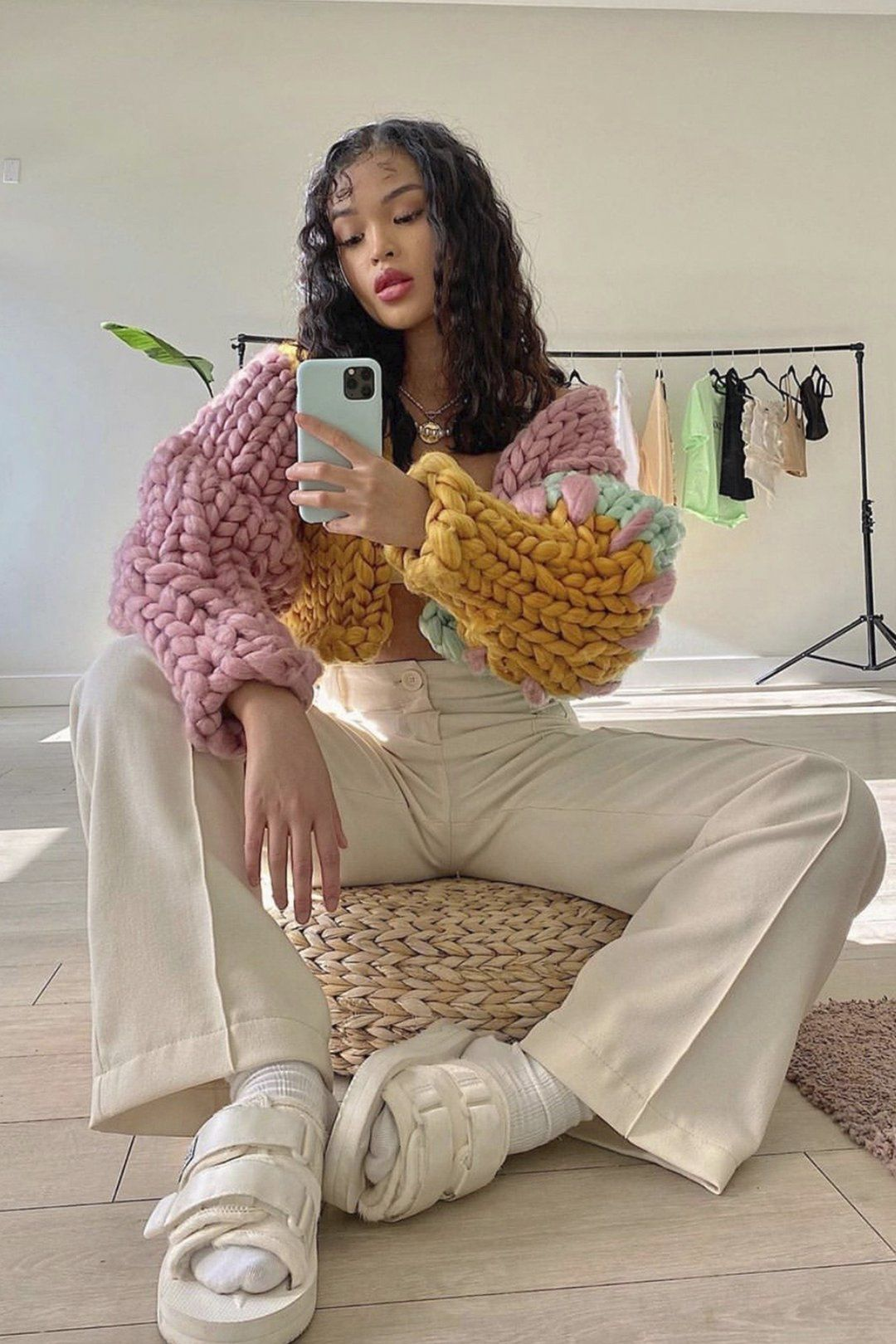 Bella Colossal Knit Jacket