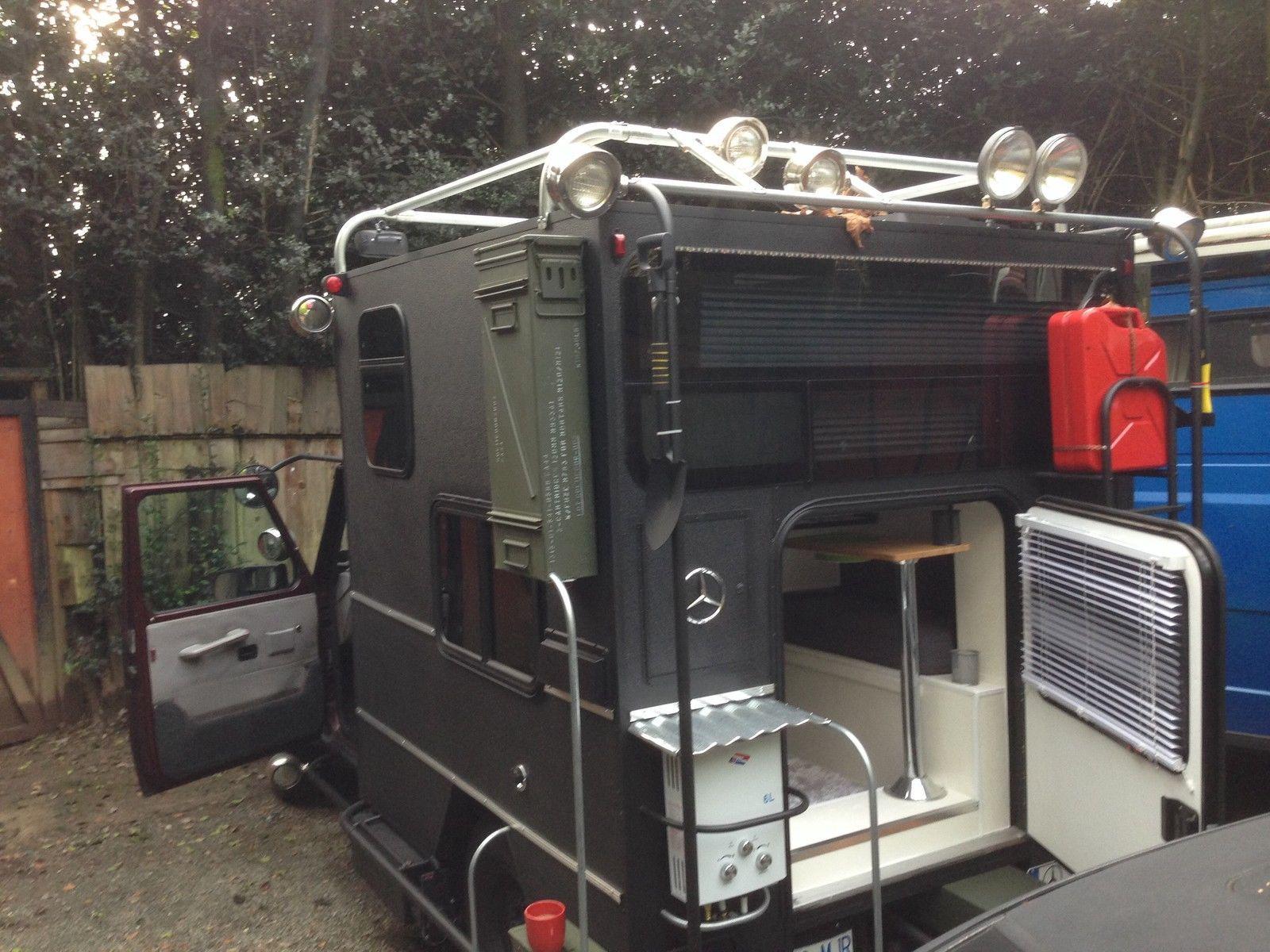 mercedes benz g class motorhome rv 4x4 g wagon expedition. Black Bedroom Furniture Sets. Home Design Ideas