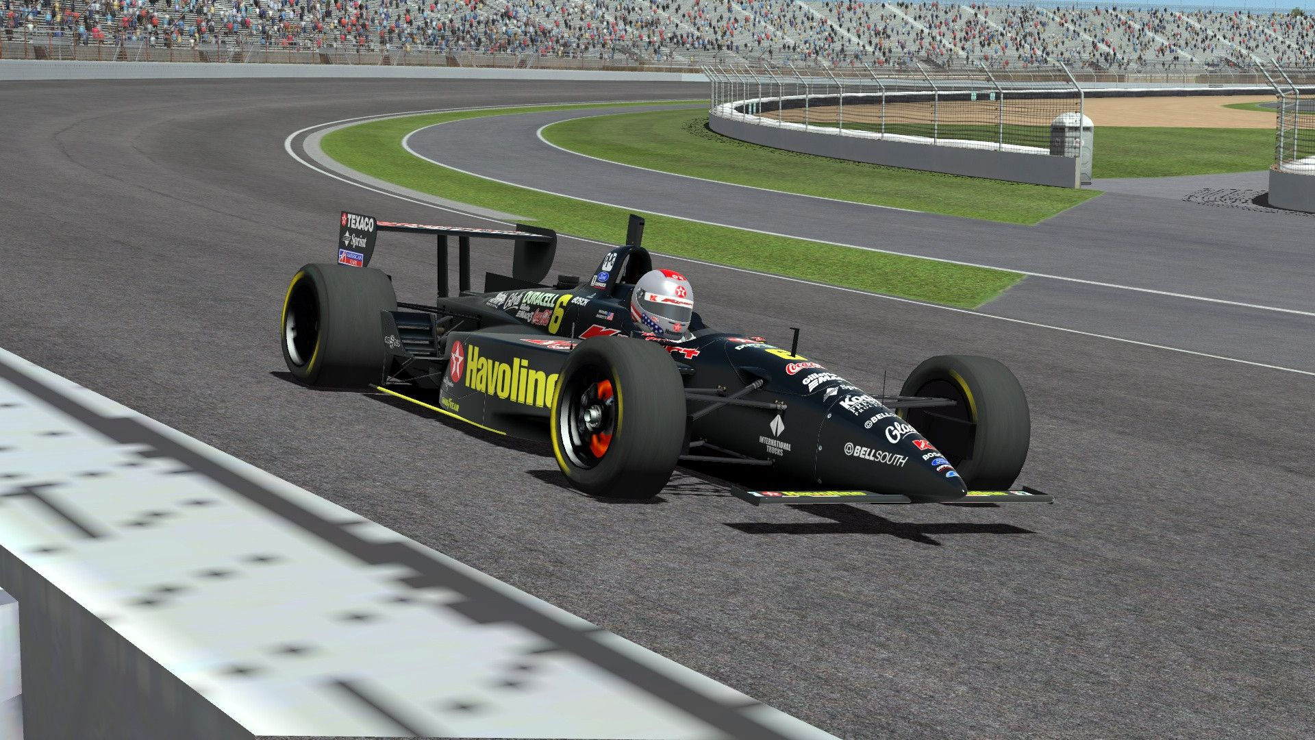 One of the most popular Open-Wheel mods for rFactor is