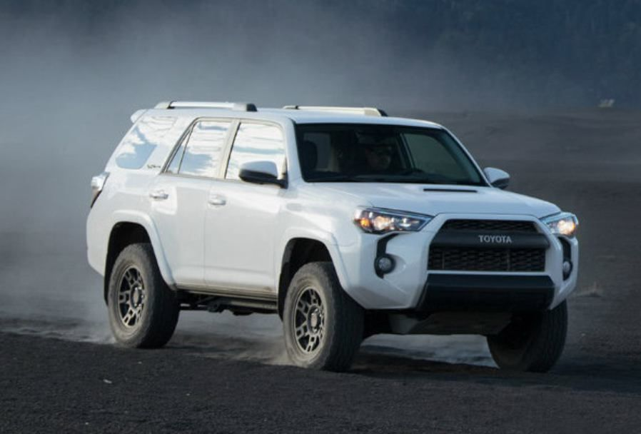 The 2019 Toyota 4Runner TRD Pro is a mid sized SUV that has a solid