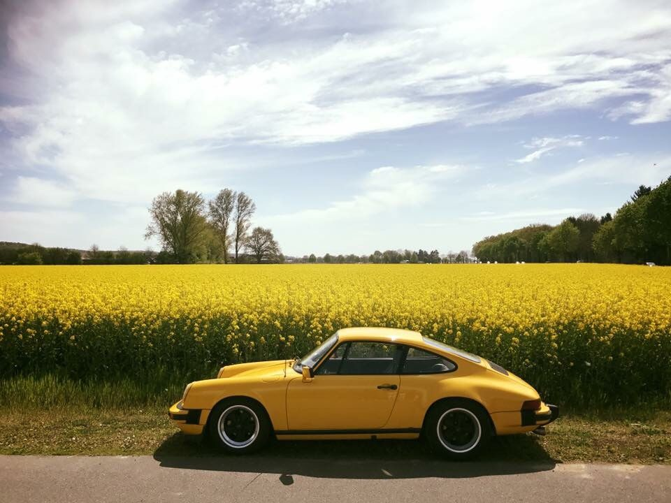 Yellow Aesthetic Blog Porsche Old Classic Cars Porsche 911
