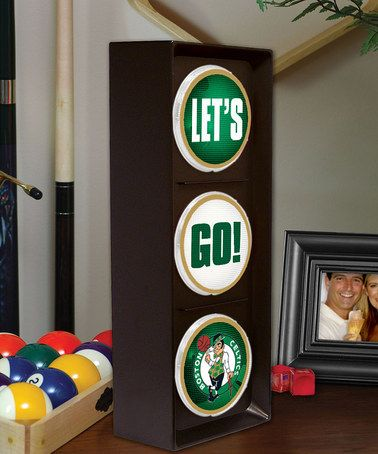 Take a look at this Boston Celtics 'Lets Go' Light by NBA Fan Collection on #zulily today!