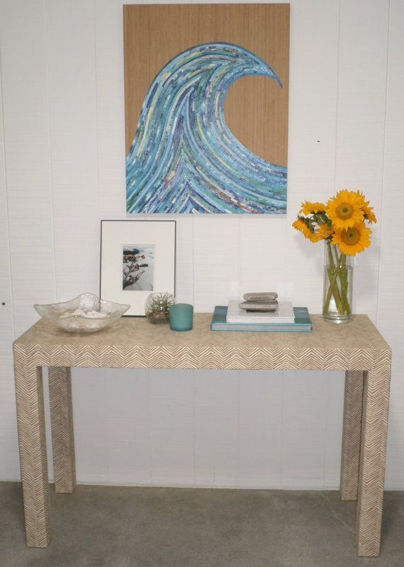 Console Table Parsonu0027s Style Custom Built And By LivenUPdesign, $500.00