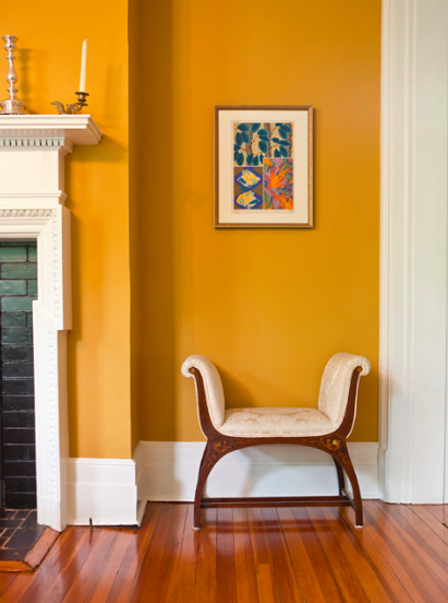 Fall Colours Rowe Spurling Paint Company Yellow Living Room Yellow Walls Living Room Yellow Dining Room