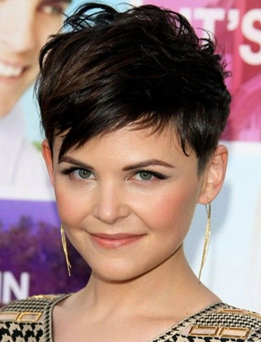 Cute Pixie Haircuts for Short Hair: Ginnifer Goodw