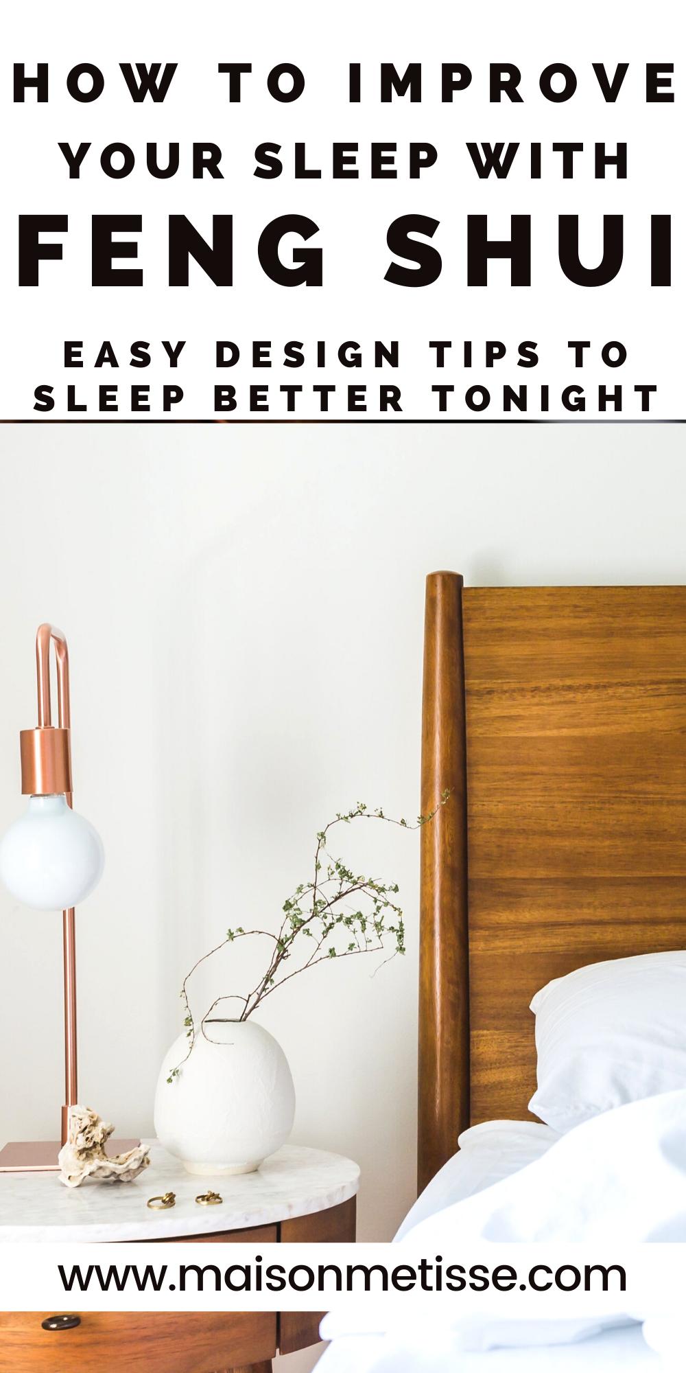 Create A Zen Bedroom Sleep Better Feng Shui Your Bedroom Better Sleep Feng Shui