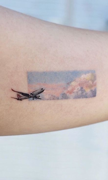 Beautiful Travel Tattoos to Capture Your Memories - Bein Kemen
