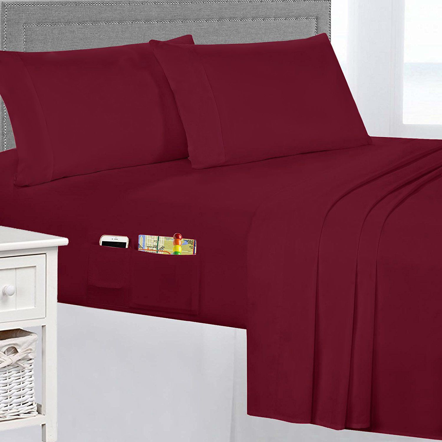 Samia smart luxury piece thread count sheet set products