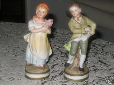Ardco - Made In Japan - C-2109 - Boy & Girl Figurines