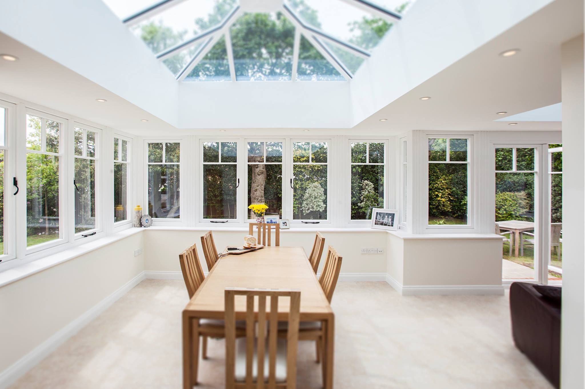 Inside of a stylish, contemporary #Residence9 Orangery. This bright ...