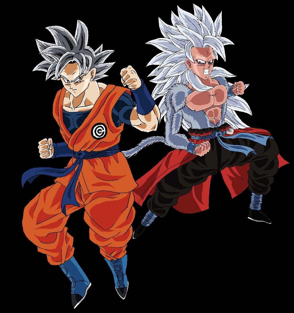 Goku Cc Mui Vs Xeno Goku Ssj5 Dragon Ball Super Manga Dragon Ball Super Goku Dragon Ball Super