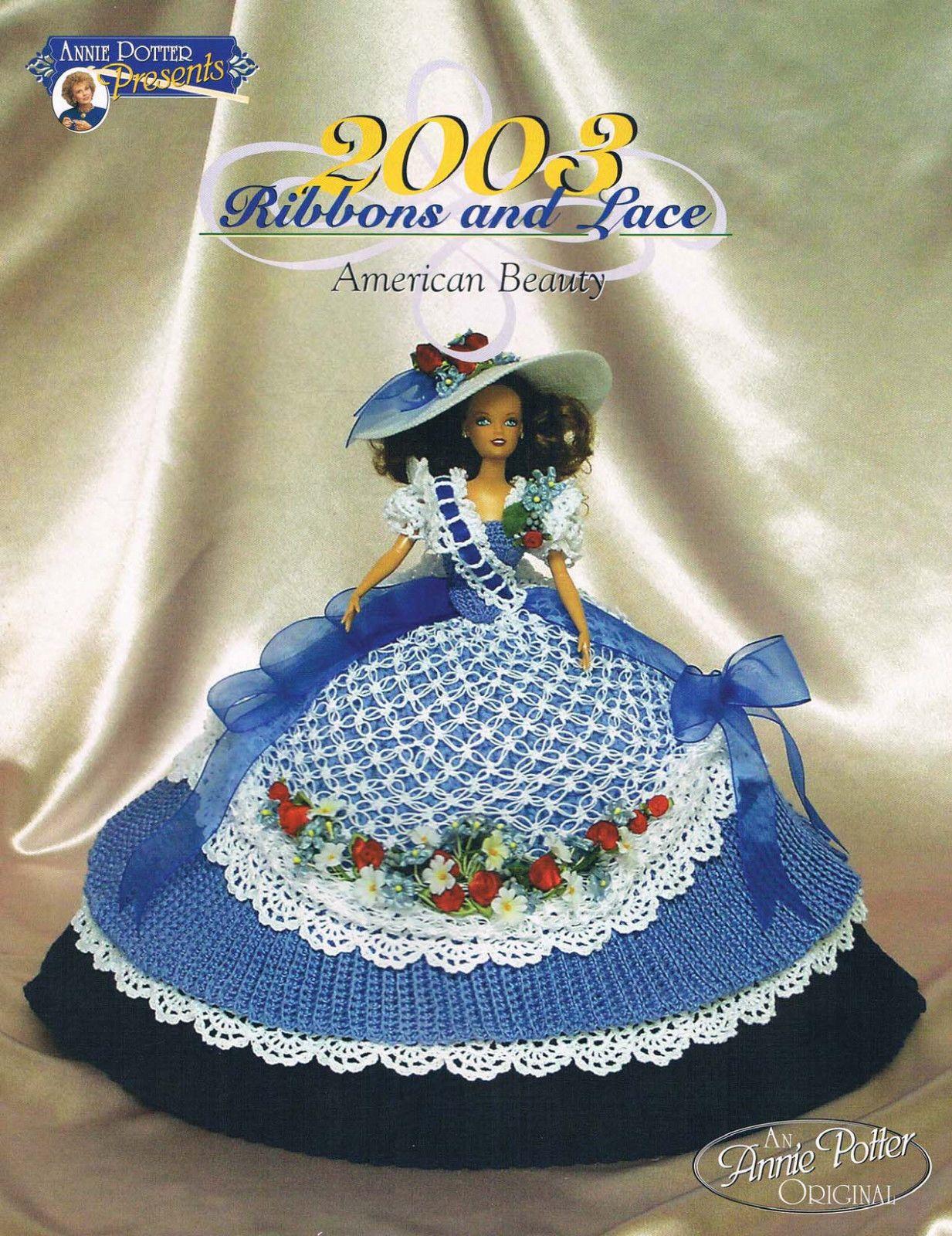 Crochet Annie Potter 2003 American Beauty Bed Doll Crochet Doll