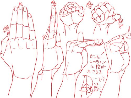Drawing Art Hands Draw Finger Hand Human Anatomy Different Knuckles
