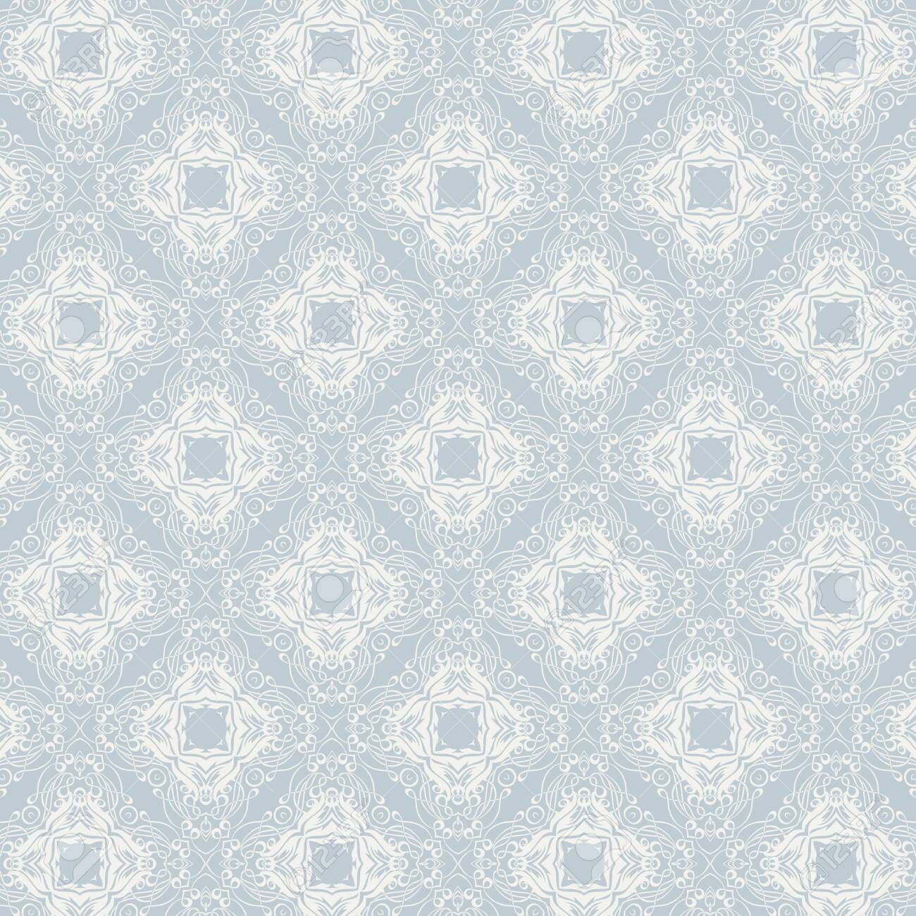 Decorative Background With An Elegant Pattern Design Stock Photo