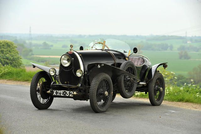 1925 Bugatti  Type 23 Brescia Torpedo  Chassis no. 2519 Engine no. 893
