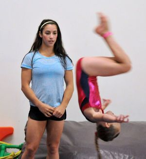 Aly Raisman Clinic Plainville Panorama Pinterest Aly