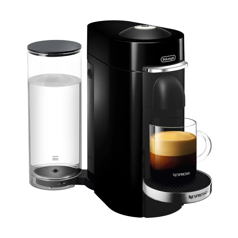 Nespresso VertuoPlus Deluxe Coffee & Espresso Machine with Aeroccino Milk Frother by DeLonghi #automaticespressomachine