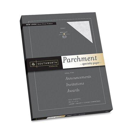 Southworth Soup974ck336 Parchment Specialty Paper 100 Pack