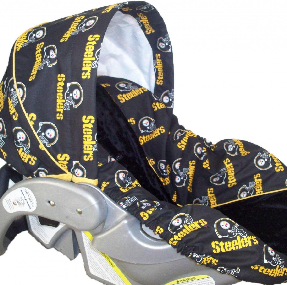Steelers carseat!  )  701d59662