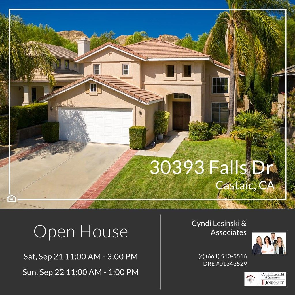 OPEN THIS WEEKEND This 1,963 square foot Castaic Beauty