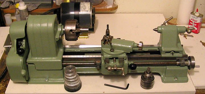 Craftsman 109 Lathe Rebuild Home Lathes Pinterest