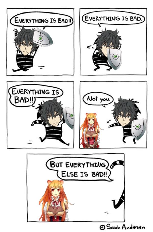 Shield hero in a nutshell