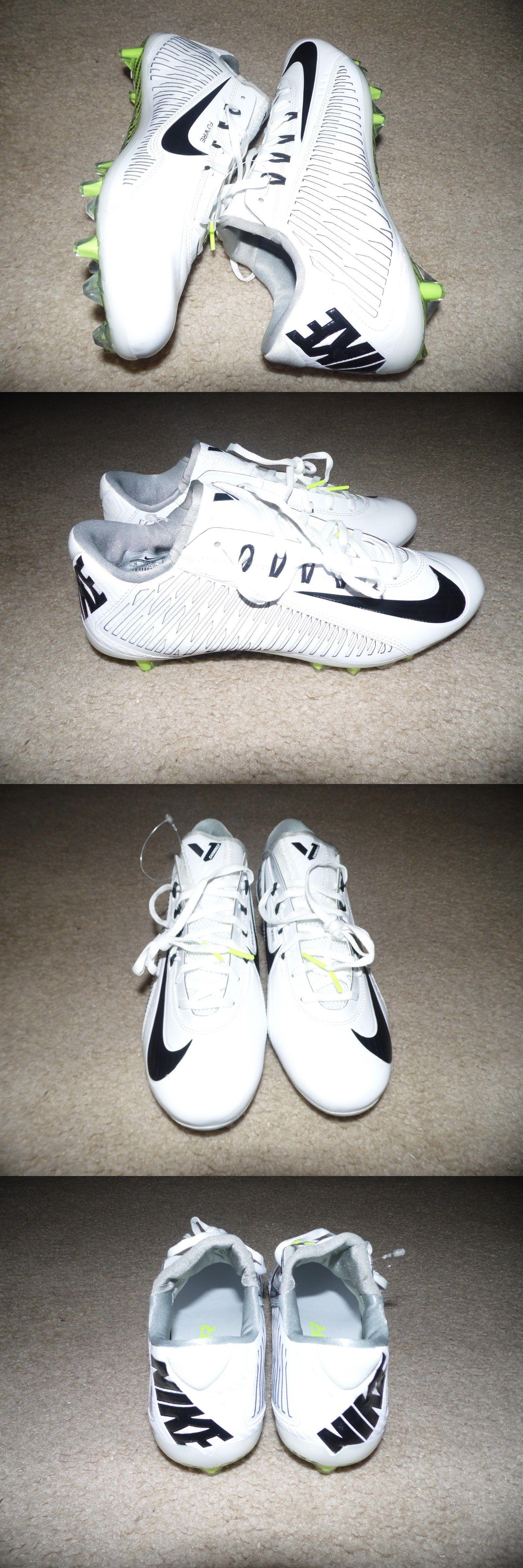 timeless design d5dd6 b9da4 Men 159116: New Sz 10.5 Nike Vapor Carbon Elite 2.0 Td Football Cleat White  Black 631425-102 -> BUY IT NOW ONLY: $74.95 on eBay!