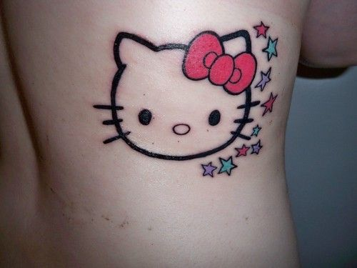 Hello Kitty With Stars Tattoo Picture At Checkoutmyink Com Hello Kitty Tattoos Hello Kitty Bow Hello Kitty